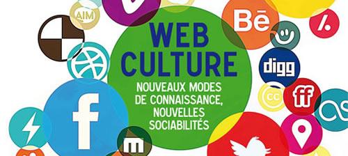 web culture affiche
